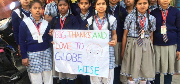 Globewise steunt 34 meisjes in India met een studiebeurs