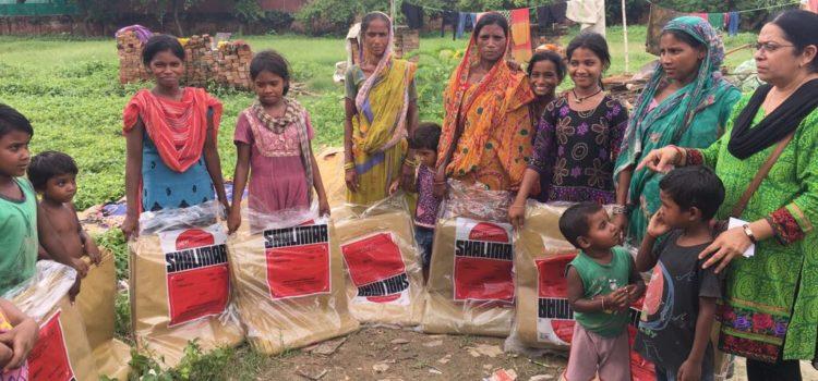 Noodhulp voor 35 families